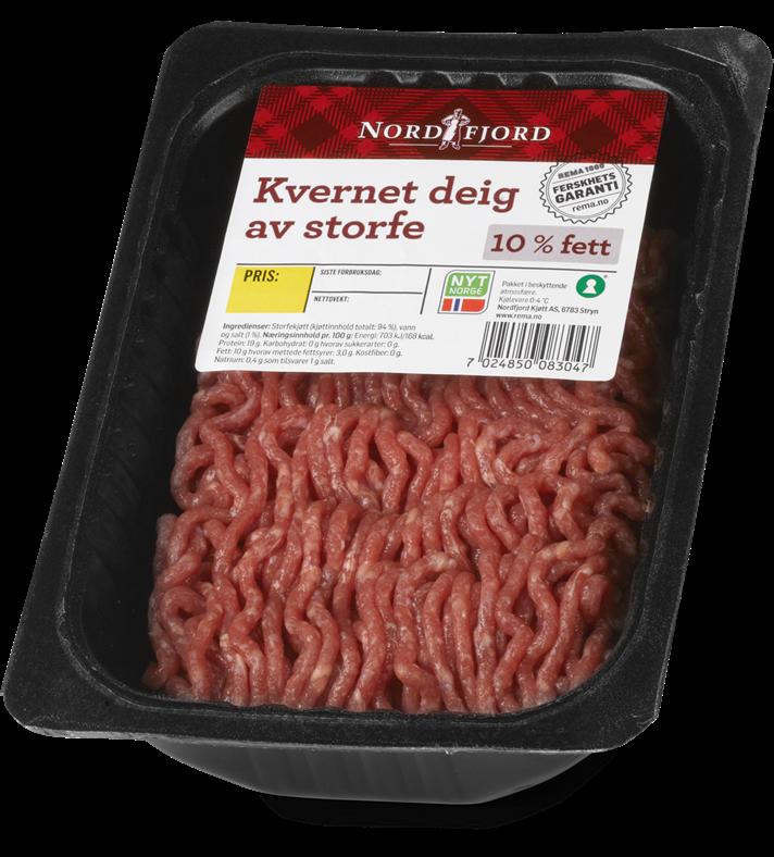 Test av kjøttdeig